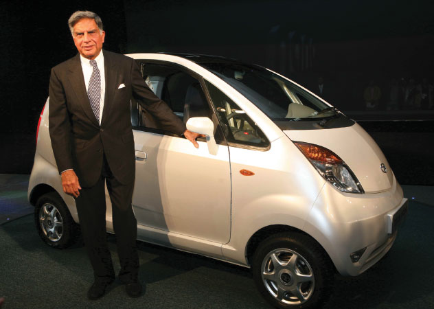 Ratan Tata launching Nano