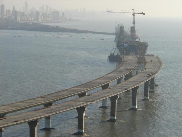 Worli Sea link project